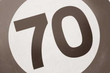the 70 sign
